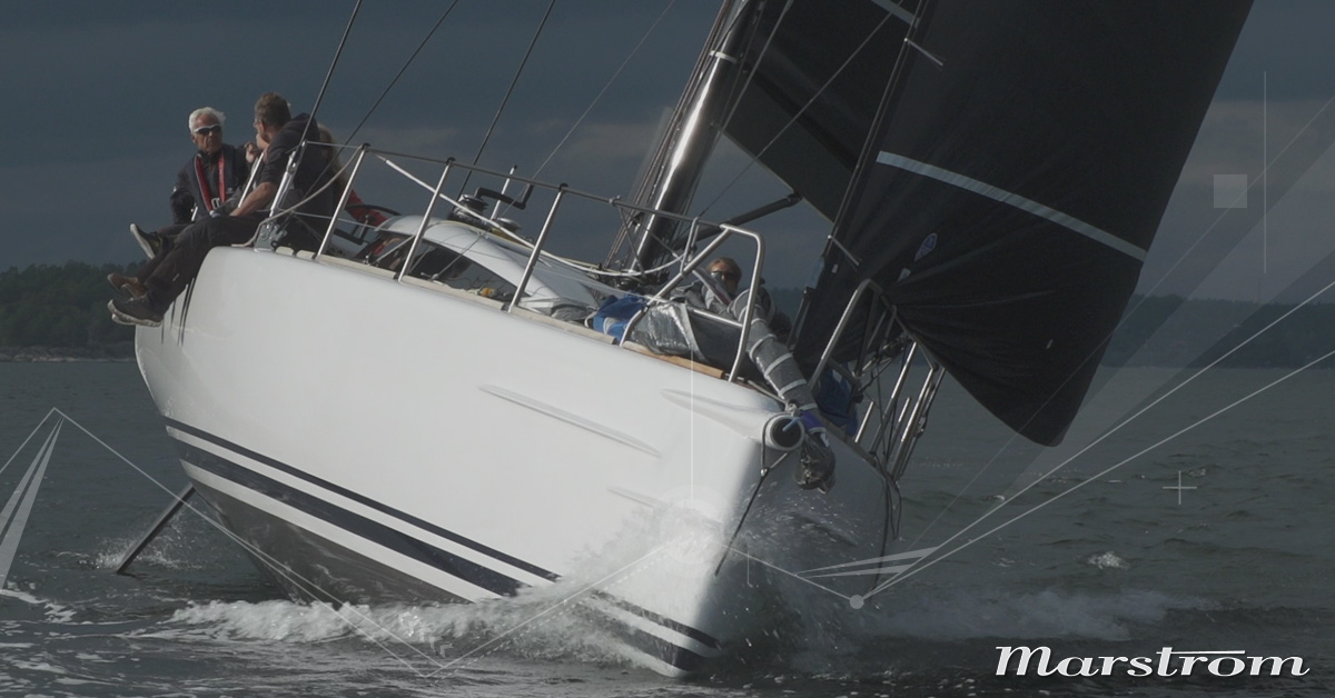 Marstrom Composite | Core supplier to the Shogun 50 project | Rig and bowsprit – lifting keel and rudder