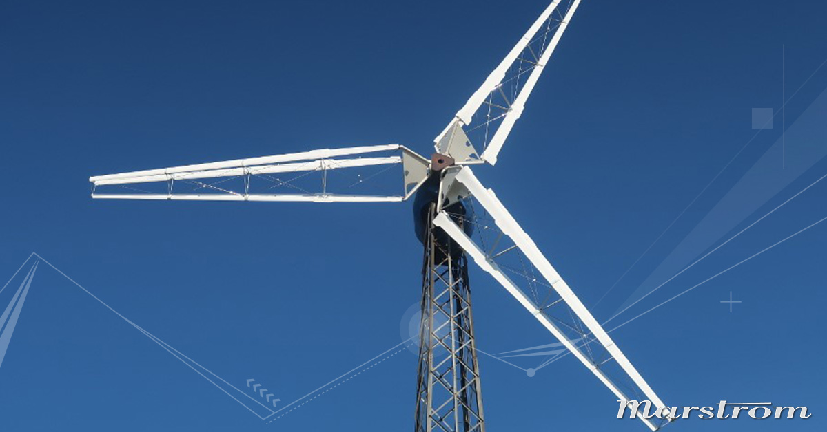 22-meter Triblade tested on wind turbine | Marstrom Composite