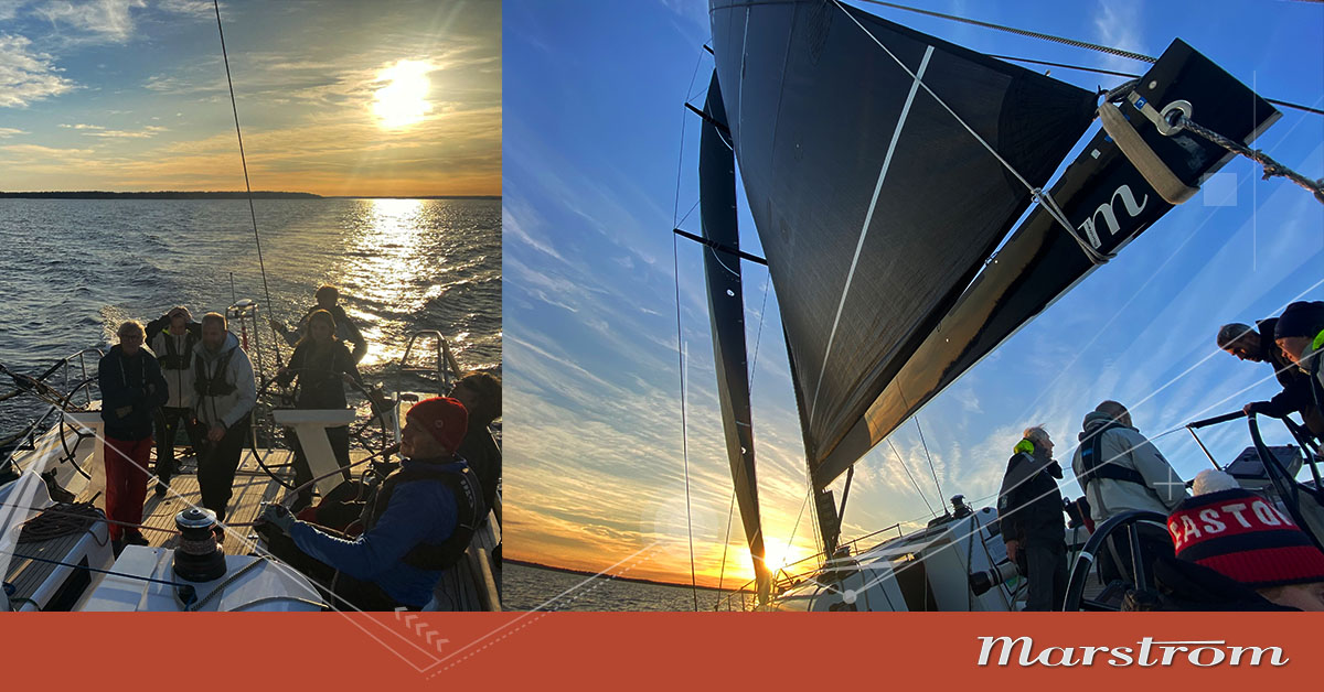 Season closing Shogun 50 sail