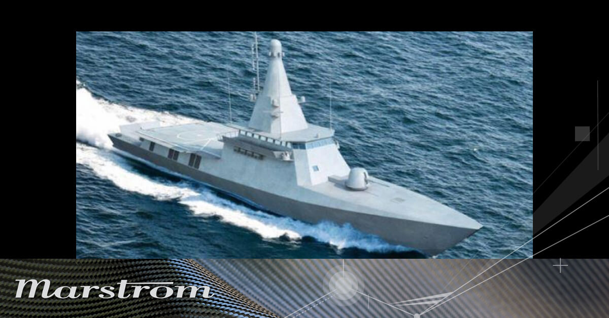 Marstrom Composites AB is on board of the most advanced armored ships